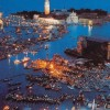 Pink Floyd Plays in Venice on a Massive Floating Stage in 1989