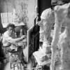 Inside Giacometti's studio