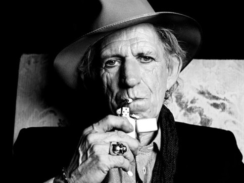 The latest record by Keith Richards, now 71, is his first solo outing in 23 years. Credit Hedi Slimane