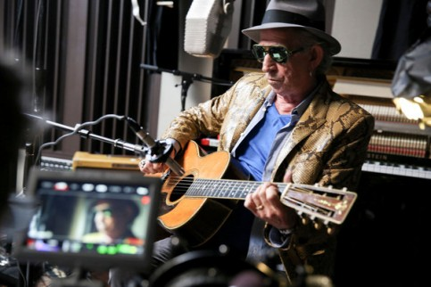 "Keith Richards in the coming Netflix documentary ""Keith Richards: Under the Influence."" Credit J. Rose/Netflix"
