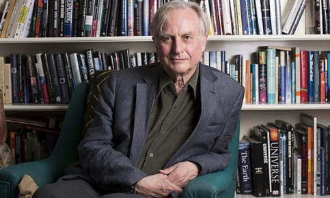 Richard Dawkins at his home in Oxford. Photograph: Graeme Robertson for the Observer