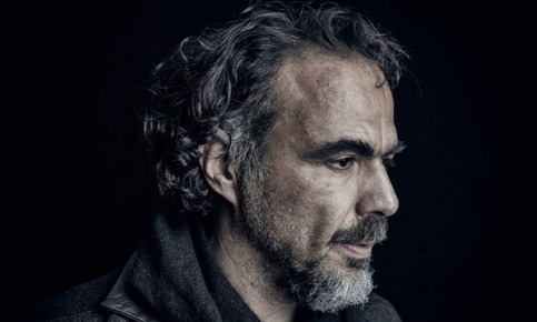 Alejandro González Iñárritu photographed at the Covent Garden hotel in London. Photograph: Antonio Olmos for the Observer