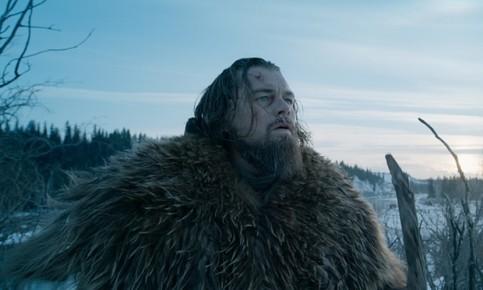 Leonardo DiCaprio in The Revenant Photograph: AP
