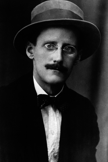 The dapper James Joyce. Photograph: Hulton Archive/Getty Images