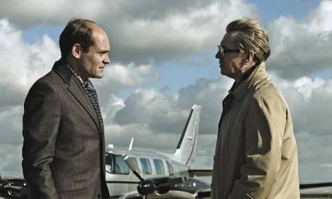David Dencik (left) and Gary Oldman in the 2011 film adaptation of Tinker Tailor Soldier Spy. Photograph: Moviestore/REX Shutterstock