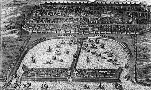 The port city of Alexandria was 'the greatest mental crucible the world has ever known'. Illustration: Hulton Archive/Getty Images
