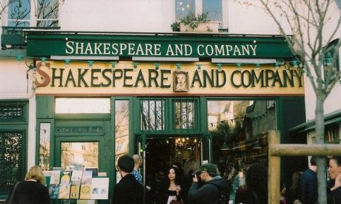 A readers' favourite ... Customers outside the Shakespeare and Company bookshop, Paris. Photograph: Annah Legg/GuardianWitness