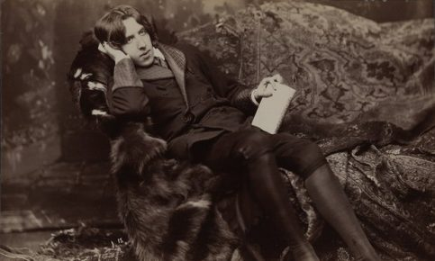 A portrait of Oscar Wilde by Napoleon Sarony. Photograph: Library of Congress, Washington