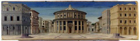 An Ideal City, Courtesy of Galleria Nazionale delle Marche, Urbino