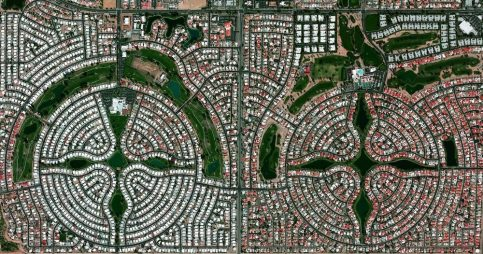 Sun Lakes, Arizona, USA is a planned community with a population of approximately 14,000 residents, most of whom are senior citizens. According to US census data, only 0.1 percent of the community's 6,683 households are home to children under the age of 18.