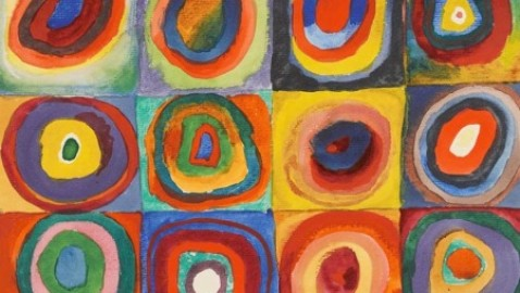 Wassily Kandinsky: the painter of sound and vision