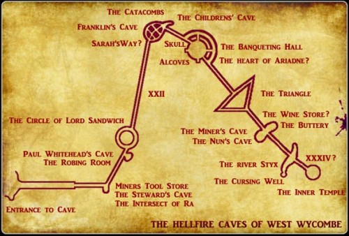 The Inner Temple and Sexual Layout of the Hellfire Caves