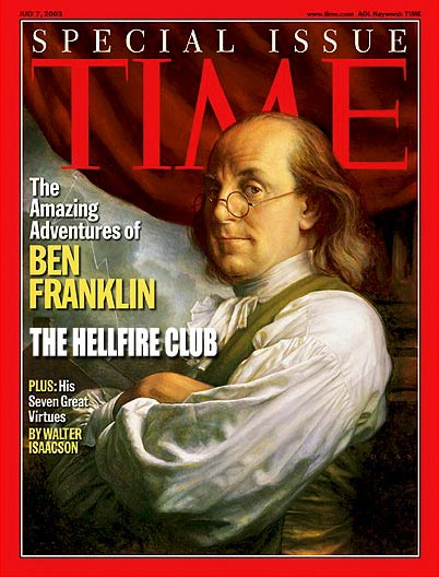 TIME Magazine Cover: The Amazing Adventures of Ben Franklin
