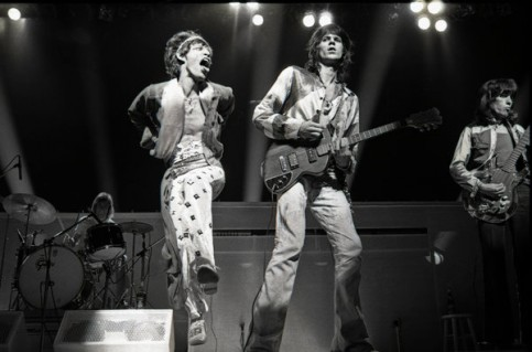 The Glimmer Twins, as they are known, in 1973. Credit Robert Knight Archive/Redferns