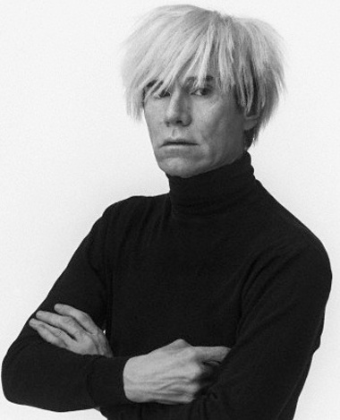 Warhol was 'a long way from the dead-eyed Martian of legend'. Photograph: Andrew Unangst/Corbis