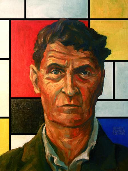 Ludwig-Wittgenstein-Piet-Mondrian-
