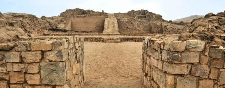 The Pyramid of Pachacamac