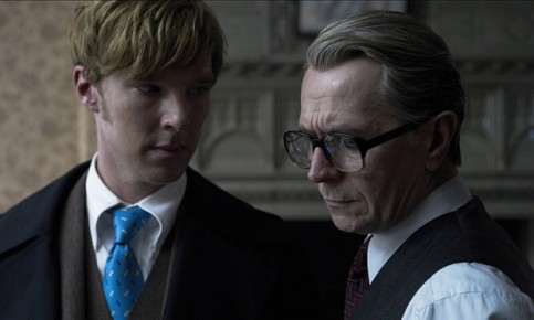 Gary Oldman and Benedict Cumberbatch in Tinker Tailor Soldier Spy (2011). Photograph: Allstar/Focus Features