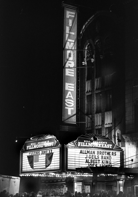 Fillmore East before its closing. New York Daily News Archive/Getty
