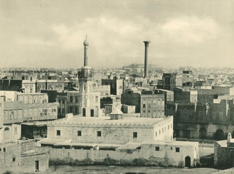 Plans for the Egyptian metropolis followed the layout of many Greek cities. Photograph: NYPL