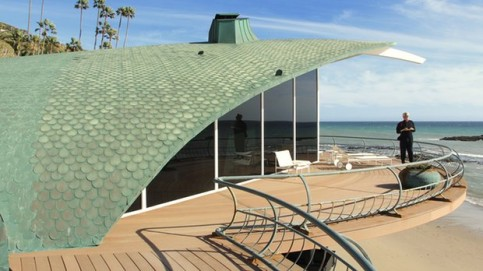 Harry Gesner's Wave House, said to be the inspiration for Sydney Opera House. Photograph: Jordan Riefe