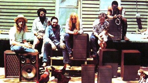The Allman Brothers in 1970, the year before they recorded 'At Fillmore East' GAB Archive/Getty