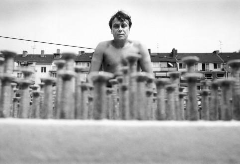 Günther Uecker - Düsseldorf, 1971.