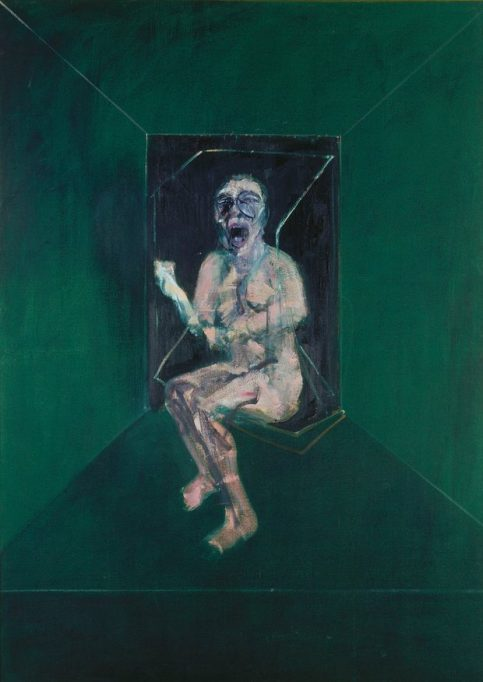 'A horrifying perpetuum mobile': Study for the Nurse in Battleship Potemkin, 1957 by Francis Bacon. Photograph: © Estate of Francis Bacon. All Rights Reserved, DACS 2016 © Städel Museum/ U Edelmann/ Artothek