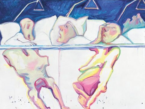 Hospital, 2005 by Maria Lassnig. Photograph: © Maria Lassnig Foundation/ Archive Hauser & Wirth