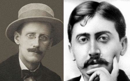 When James Joyce & Marcel Proust Met in 1922, and Totally Bored Each Other